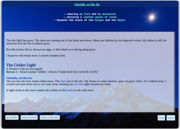 Jon Ingold's The Colder Light