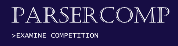 Parsercomp-console-font-logo