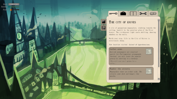City of knives screenshot