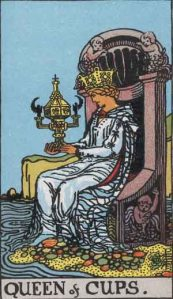 Queen of Cups tarot card