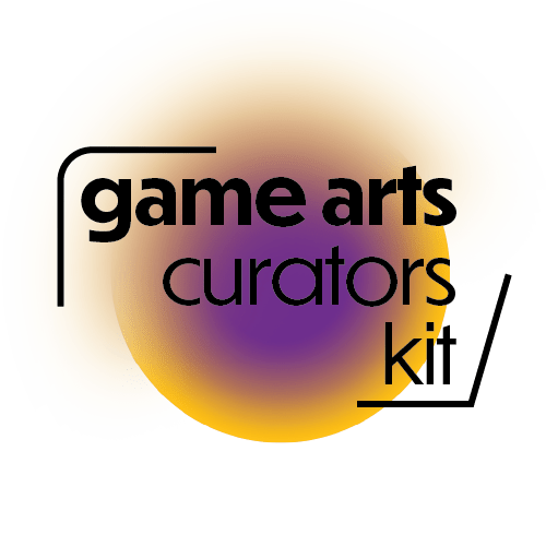 Logo with the words Game Arts Curators Kit